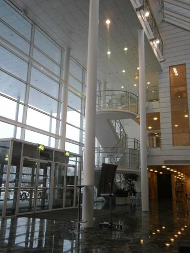Agora building lobby, JYU