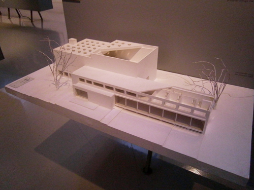 Viipuri City Library model, designed by Alvar Aalto / Alvar Aalto Museum, Jyvaskyla