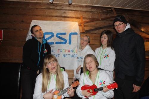 Members of ESN Jyvaskyla