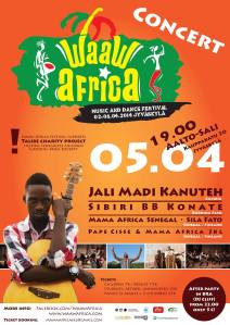 Waaw Africa 2014 poster